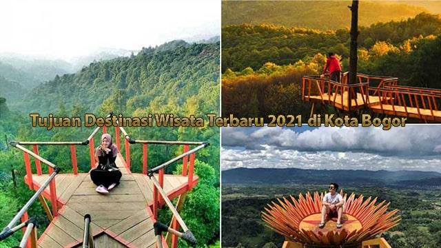 Tujuan Destinasi Wisata Terbaru 2021 di Kota Bogor
